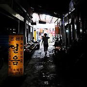 Oncheonjang Market, Busan, South Korea, September 10, 2010.