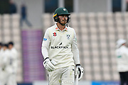 Tom Fell of Worcestershire during the Specsavers County Champ Div 1 match between Hampshire County Cricket Club and Worcestershire County Cricket Club at the Ageas Bowl, Southampton, United Kingdom on 13 April 2018. Picture by Graham Hunt.