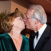NLD/Scheveningen/20130909 -  Filmpremiere Smoorverliefd, Jozias van Aartsen en partner Henriette Warsen