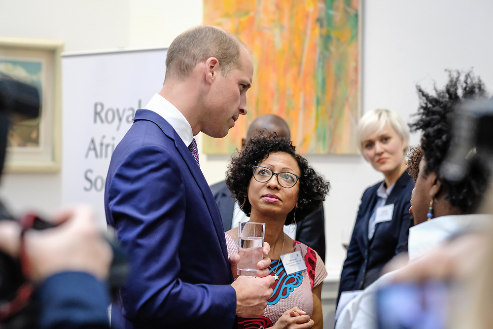 The Royal African Society is delighted to announce that its Patron, H.R.H. Prince William, The Duke of Cambridge, will attend its Autumn Reception to meet a range of the Society's members and supporters.<br /> <br /> The Reception will be the first event the Duke will attend in his capacity as Patron of the Royal African Society, since succeeding Her Majesty The Queen in this role in December 2016. (Photos/Ivan Gonzalez)