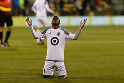October 28, 2018 - Columbus, OH, USA - Columbus, OH - Sunday October 28, 2018:  Columbus Crew played  Minnesota United FC played in a Major League Soccer (MLS) game at Mapfre Stadium. Final score Columbus Crew 3, Minnesota United 2 (Credit Image: © Jeremy Olson/ISIPhotos via ZUMA Wire)