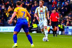 Dean Lewington of Milton Keynes Dons looks for options - Mandatory by-line: Ryan Crockett/JMP - 04/05/2019 - FOOTBALL - Stadium MK - Milton Keynes, England - Milton Keynes Dons v Mansfield Town - Sky Bet League One