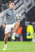 Tottenham Hotspur midfielder Erik Lamela (11) during the Champions League match between Tottenham Hotspur and Bayern Munich at Tottenham Hotspur Stadium, London, United Kingdom on 1 October 2019.