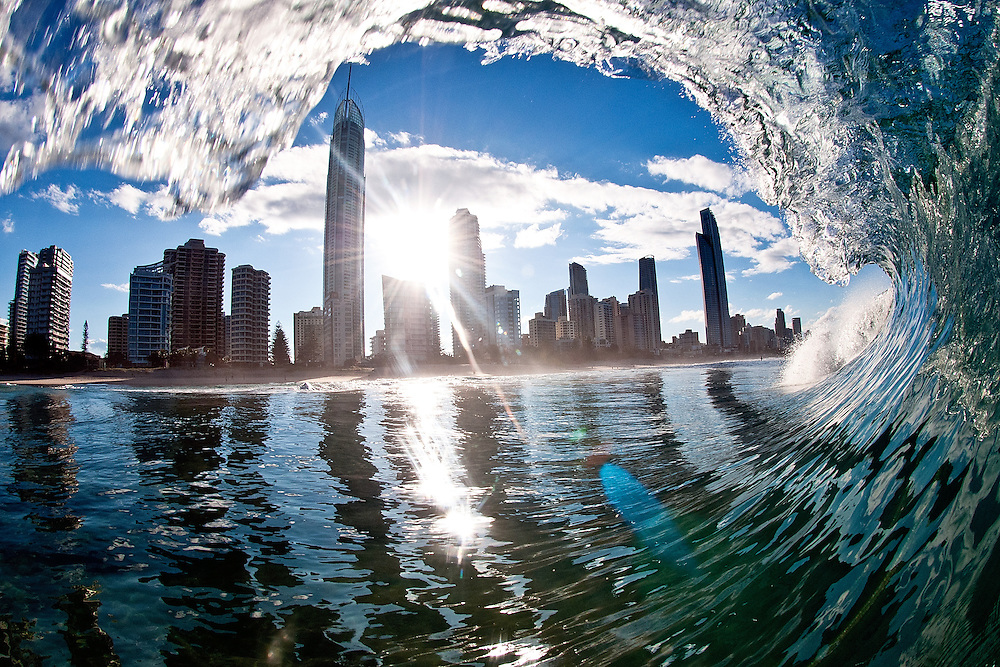 Surfers Paradise on Queensland's Gold Coast on Tuesday May 14th, 2013. (Photo by Matt Roberts/mattrimages.com.au)