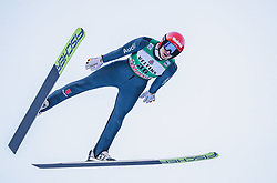 11.01.2019, Stadio del Salto, Predazzo, ITA, FIS Weltcup Nordische Kombination, Skisprung, im Bild Terence Weber (GER) // Terence Weber of Germany during Skijumping Competition of FIS Nordic Combined World Cup at the Stadio del Salto in Predazzo, Italy on 2019/01/11. EXPA Pictures © 2019, PhotoCredit: EXPA/ JFK