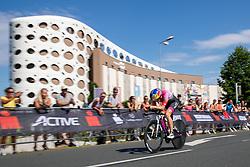 07.07.2019, Klagenfurt, AUT, Ironman Austria, Radfahren, im Bild Daniela Ryf (SUI) // Daniela Ryf (SUI) during the bike competition of the Ironman Austria in Klagenfurt, Austria on 2019/07/07. EXPA Pictures © 2019, PhotoCredit: EXPA/ Johann Groder