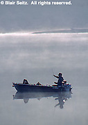 PA landscapes, fishing, Susquehanna River Morning Fog Fishing