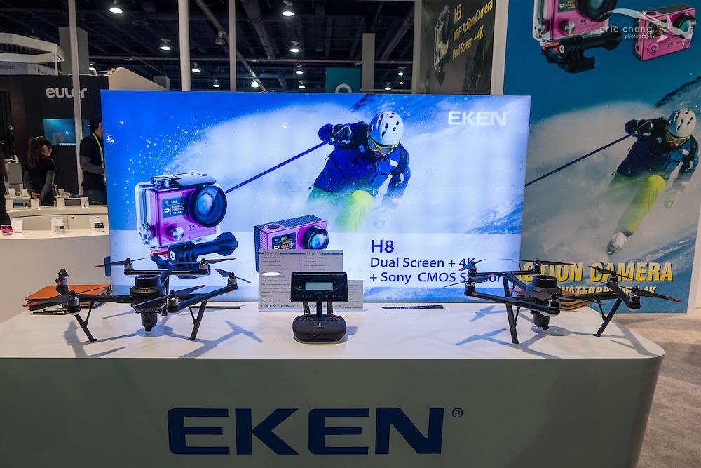 Eken (anonymous drone company). <br /> CES 2016, Las Vegas.