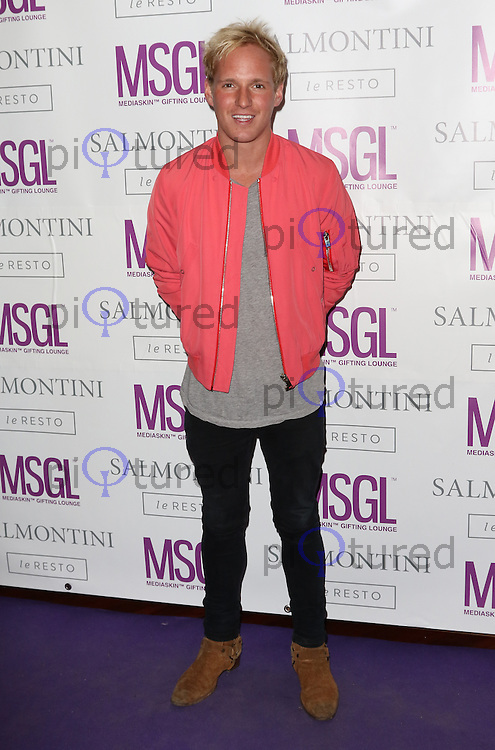 Jamie Laing, MediaSkin Gifting Lounge, Salmontini Le Resto, London UK, 19 January 2015, Photo by Richard Goldschmidt