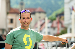 Valter Bonca during 3rd Stage of 26th Tour of Slovenia 2019 cycling race between Zalec and Idrija (169,8 km), on June 21, 2019 in Slovenia. Photo by Vid Ponikvar / Sportida