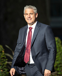 © Licensed to London News Pictures. 22/07/2019. London, UK. Brexit Secretary Stephen Barclay arrives for Prime Minister Theresa May's farewell drinks reception at Downing Street.  Voting in the Conservative party leadership election ends today with the results to be announced tomorrow. Photo credit: Peter Macdiarmid/LNP
