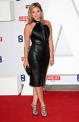 Holly Valance at the UK's Creative Industries Reception held at the Royal Academy of Arts in London, Monday, 30th July 2012.  Photo by: Stephen Lock / i-Images