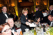 ANNE DIAMOND AUTOGRAPHING BOOKS, Man Booker prize 2011. Guildhall. London. 18 October 2011. <br /> <br />  , -DO NOT ARCHIVE-© Copyright Photograph by Dafydd Jones. 248 Clapham Rd. London SW9 0PZ. Tel 0207 820 0771. www.dafjones.com.