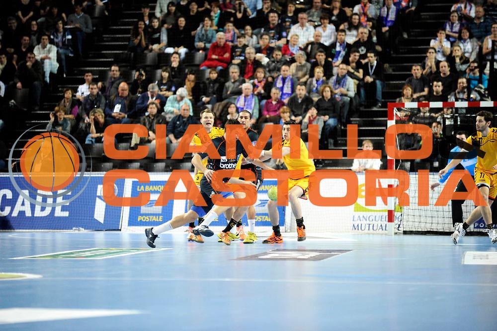 DESCRIZIONE : France Hand D1 Championnat de France D1 a Montpellier Park Suite Arena<br /> GIOCATORE : Karabatic Nikola<br /> SQUADRA : Montpellier<br /> EVENTO : FRANCE Hand D1<br /> GARA : Montpellier Chambery<br /> DATA : 01/03/2012<br /> CATEGORIA : Hand D1 <br /> SPORT : Handball<br /> AUTORE : JF Molliere <br /> Galleria : France Hand 2011-2012 Action<br /> Fotonotizia : France Hand D1 Championnat de France D1 a Montpellier<br /> Predefinita :