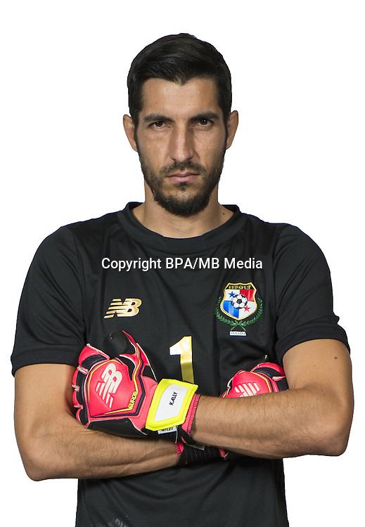 Football Conmebol_Concacaf - <br />Copa America Centenario Usa 2016 - <br />Panama National Team - Group D - <br />Jaime Manuel Penedo
