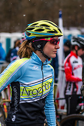 Caroline Gomez (ARG), Women Elite, Cyclo-cross World Championships Tabor, Czech Republic, 31 January 2015, Photo by Pim Nijland / PelotonPhotos.com