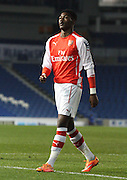 Ainsley Maitland Niles during the Barclays U21 Premier League match between Brighton U21 and Arsenal U21 at the American Express Community Stadium, Brighton and Hove, England on 1 December 2014.