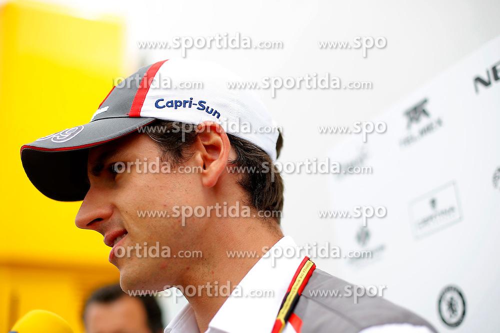 03.07.2014, Silverstone Circuit, Silverstone, ENG, FIA, Formel 1, Grand Prix von Grossbritannien, Vorberichte, im Bild Adrian Sutil (GER) Sauber // during the preperation of British Formula One Grand Prix at the Silverstone Circuit in Silverstone, Great Britain on 2014/07/03. EXPA Pictures &copy; 2014, PhotoCredit: EXPA/ Sutton Images/ Martini<br /> <br /> *****ATTENTION - for AUT, SLO, CRO, SRB, BIH, MAZ only*****