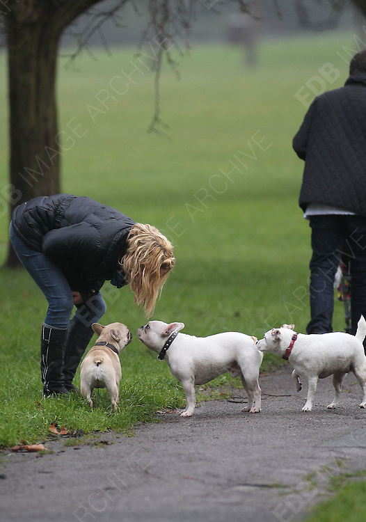 21.DECEMBER.2011. LONDON<br /> <br /> SARAH HARDING OUT AND ABOUT WALKING THROUGH PRIMROSE HILL IN LONDON<br /> <br /> BYLINE: EDBIMAGEARCHIVE.COM<br /> <br /> *THIS IMAGE IS STRICTLY FOR UK NEWSPAPERS AND MAGAZINES ONLY*<br /> *FOR WORLD WIDE SALES AND WEB USE PLEASE CONTACT EDBIMAGEARCHIVE - 0208 954 5968*