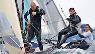 ENGLAND, Falmouth, Restronguet Sailing Club, 8th September 2009, International 14 Prince of Wales Cup Week, GBR1520 Katie Nurton and Nigel Ash