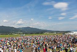 03.09.2016, Fliegerhorst Hinterstoisser, Zeltweg, AUT, AIRPOWER 2016, im Bild, Besucher // during the Airpower 16 Air show on the Air Base Hinterstoisser, Zeltweg, Austria on 2013/09/03. EXPA Pictures © 2016, PhotoCredit: EXPA/Dominik Angerer
