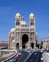 AA00739-03...FRANCE - Saint Major Mary's Cathedral in Marseille.