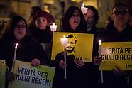 Palermo: fiaccolata in ricordo di Giulio Regeni