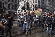 Demonstration against Trophy hunting, Regent St. London. 13 April 2019