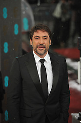 Javier Bardem during The British Academy Film Awards, The Royal Opera House, Bow Street, Covent Garden, London, WC2, Sunday February 10, 2013. Photo by Andrew Parsons / i-Images. ..