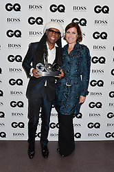 NILE ROGERS and ALISON MOYET at the GQ Men of The Year Awards 2016 in association with Hugo Boss held at Tate Modern, London on 6th September 2016.