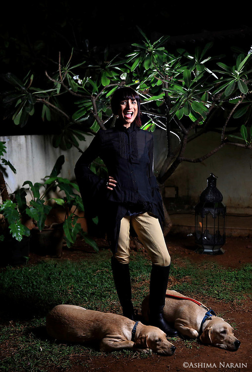 Adhuna Akhtar for Harper's Bazaar. Adhuna runs and owns B:Blunt, a chain of hair salons in India.