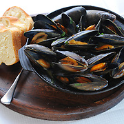 Jak recipes for March.  Mussels in Tarragon. Picture Robert Perry The Scotsman 4th March 2014