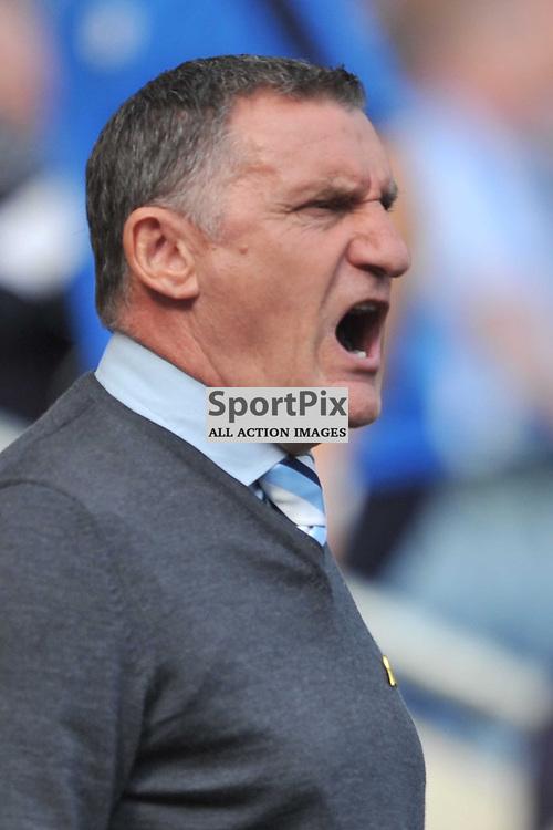 Tony Mowbray Manager Coventry City, Coventry City v Shreswsbury Ricoh Arena, Football League One, Saturday 3rd October 2015