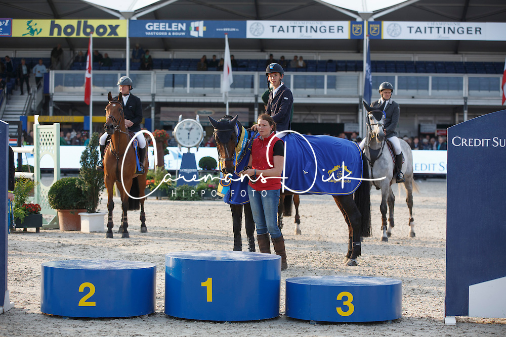 Allen Bertram (IRL) - Barnike<br /> Final 7 years<br /> FEI World Breeding Jumping Championships for Young Horses - Lanaken 2014<br /> &copy; Dirk Caremans