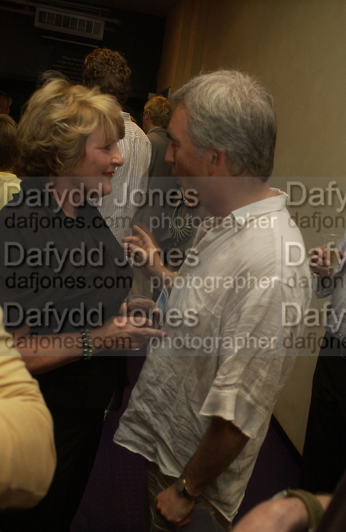 Brenda Blethyn and Dennis Lawson. Gala Charity premiere of 'On A Clear Day' in aid of the NSPCC. The Screen on the Hill, Haverstock Hill, London. 31 August 2005. ONE TIME USE ONLY - DO NOT ARCHIVE  © Copyright Photograph by Dafydd Jones 66 Stockwell Park Rd. London SW9 0DA Tel 020 7733 0108 www.dafjones.com