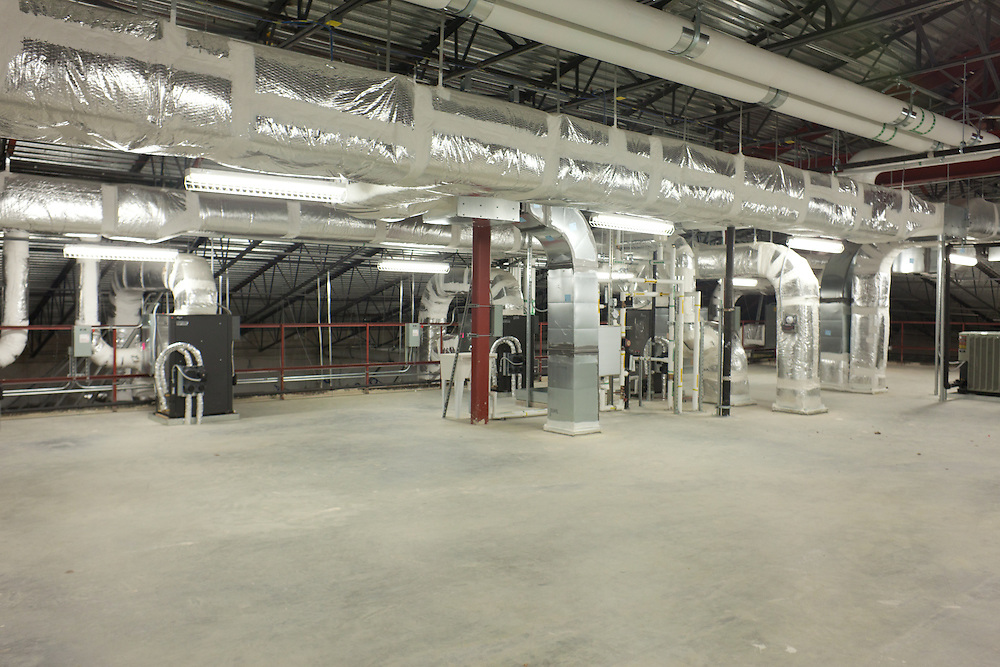 Vandergrift High School<br /> Building 1<br /> Mechanical Mezzanine