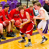 Green Forest JR High Boys Basketball vs Berryville 11-23-15