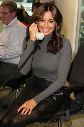 © Licensed to London News Pictures. 11/09/2017. MELANIE SYKES takes part in the on the annual BGC Partners Charity Day in commemoration of its 658 friends and colleagues and 61 Eurobroker employees lost in the World Trade Center attacks on 9/11. PIcture Credit: Tang/LNP