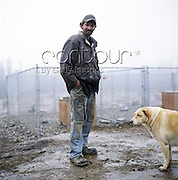 Four-time winner of the Iditarod sled dog race across Alaska Lance Mackey is photographed for a Self Assignment. 2009<br /> EXCLUSIVLY AVAILABLE ON CONTOUR IMAGES<br /> WWW.CONTOURPHOTOS.COM