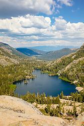 """Warren Lake 4"" - Photograph of Warren Lake in the Tahoe area back country."
