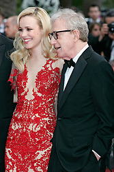 """11.05.2011, Cannes, FRA, Filmfestspiele von Cannes 2011, im Bild Actress Rachel McAdams and director Woody Allen attending the 63rd Annual Cannes Film Festival / Festival de Cannes 2011 - Opening and premiere of """"Midnight in Paris"""" .FESTIWAL FILMOWY W CANNES.PREMIERA FILMU.FOT. EXPA Pictures © 2011, PhotoCredit: EXPA/ EXPA/ Newspix/ Future Images +++++ ATTENTION - FOR AUSTRIA/(AUT), SLOVENIA/(SLO), SERBIA/(SRB), CROATIA/(CRO), SWISS/(SUI) and SWEDEN/(SWE) CLIENT ONLY +++++"""