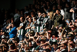 General view of Plymouth Argyle fans - Mandatory byline: Jack Phillips / JMP - 07966386802 - 11/10/2015 - FOOTBALL - Meadow Lane - Nottingham, Nottinghamshire - Notts County v Plymouth Argyle - Sky Bet Championship