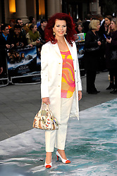 Cleo Rocas arrives for the UK premiere of the film 'Noah', Odeon, London, United Kingdom. Monday, 31st March 2014. Picture by Chris Joseph / i-Images