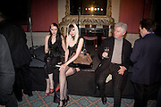 SATANIC SLUTS; KATE LOMOX; HAYLEY THOMPSON;  GORDON MILLINGSThe Literary Review Bad sex in Fiction award 2008. The In and Out Club. 4 St. James Square. London SW1. 25 November 2008. *** Local Caption *** -DO NOT ARCHIVE -Copyright Photograph by Dafydd Jones. 248 Clapham Rd. London SW9 0PZ. Tel 0207 820 0771. www.dafjones.com