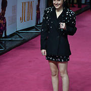 Bella Ramsey arrivers at the Judy - London premiere at Curzon Mayfair, 38 Curzon Street, on 30 September 2019, London, United Kingdom