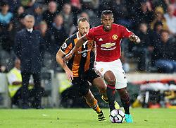 Luis Antonio Valencia of Manchester United  - Mandatory by-line: Matt McNulty/JMP - 27/08/2016 - FOOTBALL - KC Stadium - Hull, England - Hull City v Manchester United - Premier League
