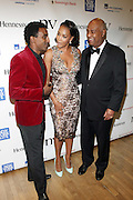 l to r:  Marcus Samuelsson, Vivica A. Fox and Noel Hankin at The 2009 NV Awards: A Salute to Urban Professionals sponsored by Hennessey held at The New York Stock Exchange on February 27, 2009 in New York City. ....