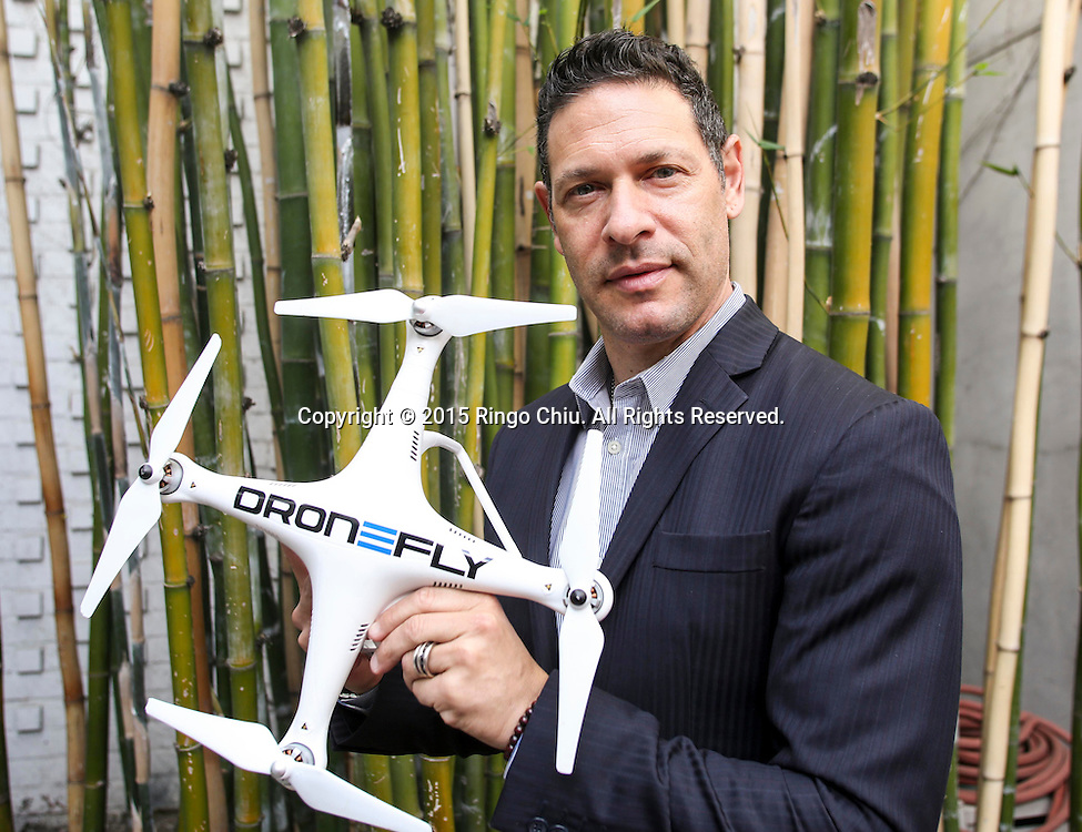 Keith Kaplan, CEO of the Tesla Foundation, a robotics nonprofit and chief organizer of the Drone Expo.<br /> (Photo by Ringo Chiu/PHOTOFORMULA.com)<br /> Usage Notes: This content is intended for editorial use only. For other uses, additional clearances may be required.