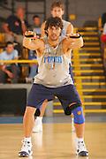 DESCRIZIONE : Bormio Ritiro Nazionale Italiana Maschile Preparazione Eurobasket 2007 Allenamento <br /> GIOCATORE : Gianluca Basile<br /> SQUADRA : Nazionale Italia Uomini EVENTO : Bormio Ritiro Nazionale Italiana Uomini Preparazione Eurobasket 2007 GARA :<br /> DATA : 24/07/2007 <br /> CATEGORIA : Allenamento <br /> SPORT : Pallacanestro <br /> AUTORE : Agenzia Ciamillo-Castoria/S.Silvestri <br /> Galleria : Fip Nazionali 2007 <br /> Fotonotizia : Bormio Ritiro Nazionale Italiana Maschile Preparazione Eurobasket 2007 Allenamento <br /> Predefinita :
