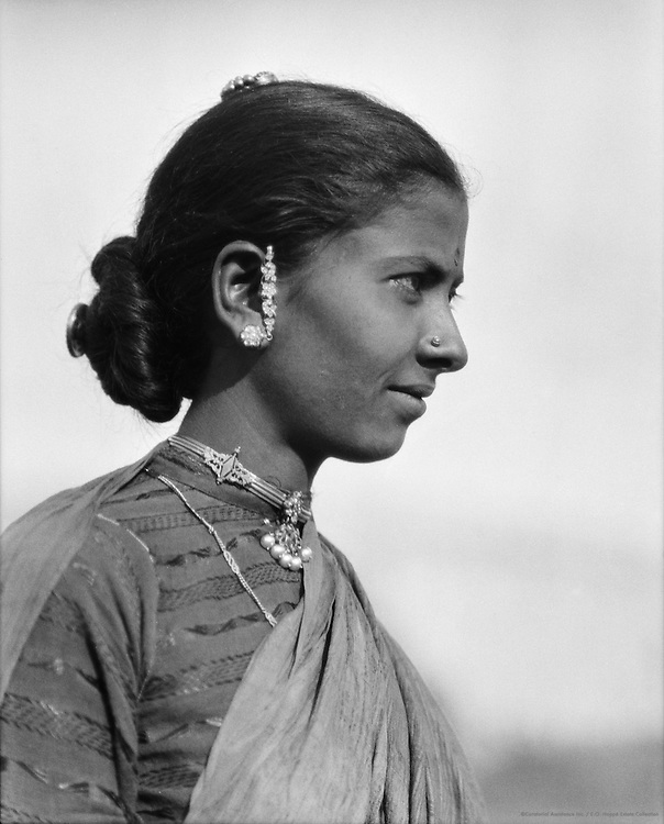 Sudra Woman, Guntakal, India, 1929